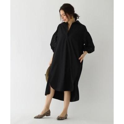 aquagirl / アクアガール TICCA 袖フラワー刺繍ワンンピース