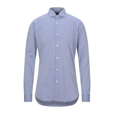LIU •JO MAN シャツ ブルー 38 コットン 100% シャツ