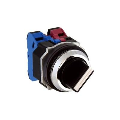 Φ30 亜鉛ダイカスト製シリーズ セレクタスイッチ ASD形 (矢形ハンドル) IDEC(和泉電気) ASD340N