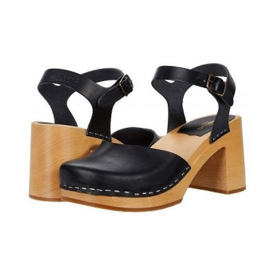 Swedish Hasbeens スウェディッシュハズビーンズ レディース 女性用 シューズ 靴 ヒール Ann-Sofi - Black