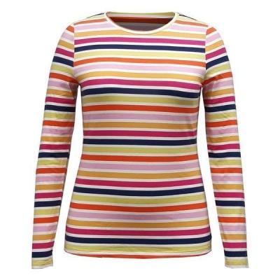 スタイルアンドコー カットソー トップス レディース Striped Top,  Oatmeal Heather Stripe