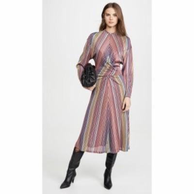 ブーフィレ Beaufille レディース ワンピース ワンピース・ドレス Aquila Dress Pink Stripe