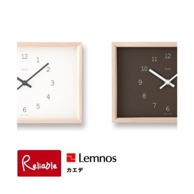 レムノス/Lemnos カエデ Kaede NY14-02 時計 置き掛け時計 タカタレムノス【Y/52.5】
