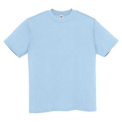 アイトス Tシャツ(男女兼用) カラー:ライトブルー サイズ:L (Tシャツ)【4548413005039:11057】