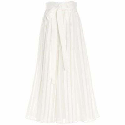 ZIMMERMANN/ジマーマン White Bow plisse skirt レディース 春夏2021 1033SANDNAT ju