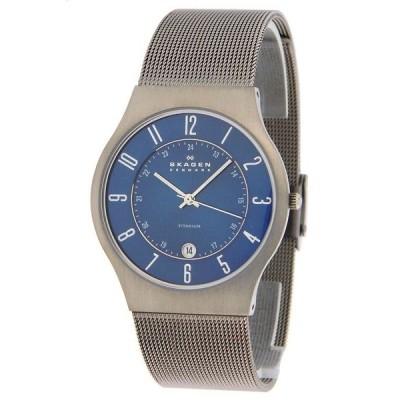 SKAGEN/スカーゲン 233xlttn Grey Titanium Mesh メッシュ メンズ グレー チタニウム 腕時計