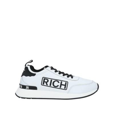 ジョン リッチモンド JOHN RICHMOND スニーカー&テニスシューズ(ローカット) ホワイト 41 革 スニーカー&テニスシューズ(ローカッ