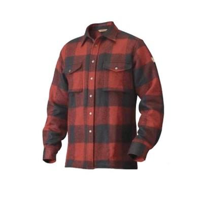 フェールラーベン Fjallraven メンズ シャツ トップス Canada Shirt Red