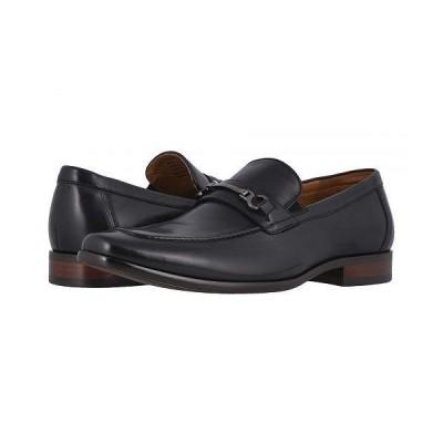 Florsheim フローシャイム メンズ 男性用 シューズ 靴 ローファー Postino Moc Toe Bit Slip-On - Black Smooth