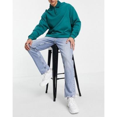ジャック アンド ジョーンズ Jack & Jones メンズ ジーンズ・デニム ボトムス・パンツ Intelligence Clarke regular fit jeans in mid blue ブルーデニム