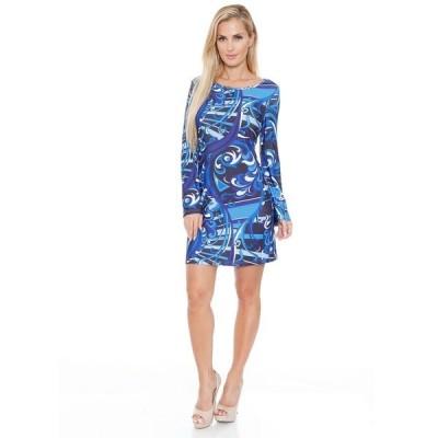 ホワイトマーク ワンピース トップス レディース Women's Juliana Dress Blue