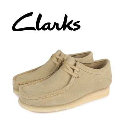 【スニークオンラインショップ】 クラークス clarks ワラビーブーツ メンズ WALLABEE ベージュ 26155515 メンズ その他 UK7.5-25.5 SNEAK ONLINE SHOP