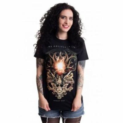 インペリコン Impericon レディース Tシャツ トップス - Forget Not - T-Shirt black