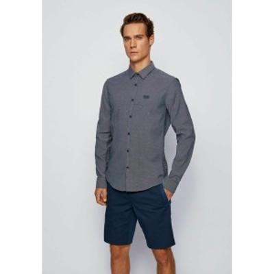 ボス メンズ シャツ トップス Shirt - dark blue dark blue
