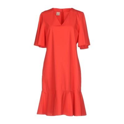 ピンコ PINKO ミニワンピース&ドレス レッド 40 コットン 100% ミニワンピース&ドレス