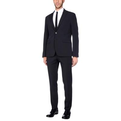 DOMENICO TAGLIENTE スーツ ブラック 56 ポリエステル 94% / ポリウレタン 6% スーツ