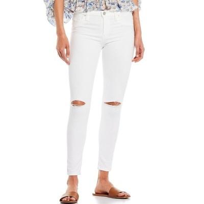 ハドソンジーンズ レディース デニムパンツ ボトムス Nico Super Skinny Crop Jeans Spirit