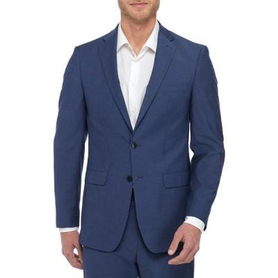 カルバンクライン ジャケット&ブルゾン アウター メンズ Blue Coat Suit Separate  Blue