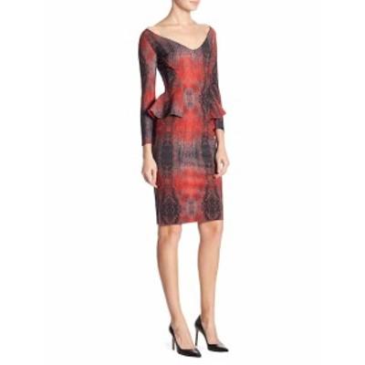 キアラボニラプチローブ レディース ワンピース Three-Quarter Sleeve Peplum Dress