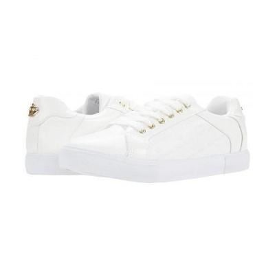 Juicy Couture ジューシークチュール レディース 女性用 シューズ 靴 スニーカー 運動靴 Cheer - White