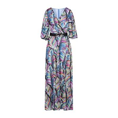 シルビアンヒーチ SILVIAN HEACH ロングワンピース&ドレス パステルブルー XXS ポリエステル 100% ロングワンピース&ドレス