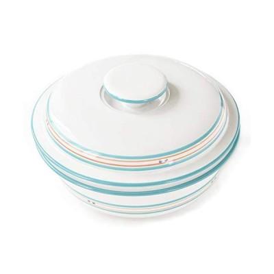 陶磁器 MIKASAミカサ ブルーライン どっしりしたキャセロール 北欧 シンプル 高級 丈夫 使いやすい
