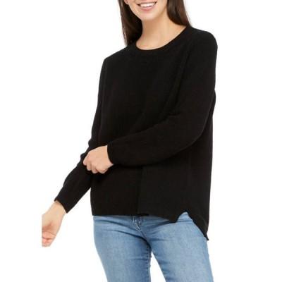 クラウン&アイビー レディース ニット・セーター アウター Petite Cotton Stitch Sweater