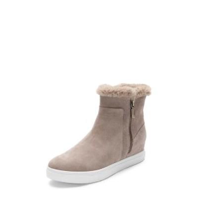 ブロンド レディース スニーカー シューズ Glade Suede Faux Fur Lined Sneaker MUSHROOM