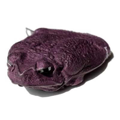 小銭入れ コインケース コブヤ Kobja カエル革 深紫  メンズ