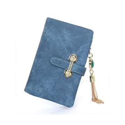 [財布] 二つ折り財布 (レディース) カード 13枚 収納 収納力抜群 小銭入れ 取り外し可能 二つ折り 大容量 ギフト