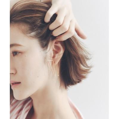 Abahouse Devinette / 【sauvage peau】メタル変形デザインピアス WOMEN アクセサリー > ピアス(両耳用)