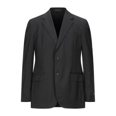 ランバン LANVIN テーラードジャケット ダークブルー 52 ウール 100% テーラードジャケット