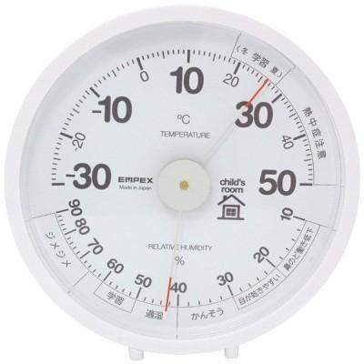 エンペックス (EMPEX) おうちルーム温湿度計 置き掛け兼用 子供部屋用 TM-6331