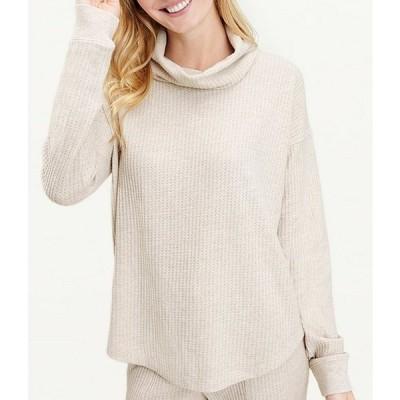 スプレンディット レディース Tシャツ トップス Knit Firestone Cowl Neck Sweatshirt