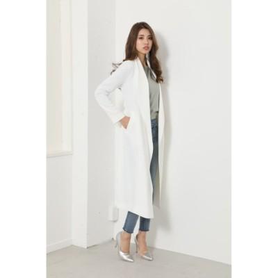 Soft Gown Coat WHT