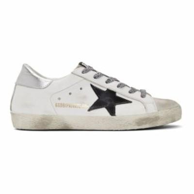 ゴールデン グース Golden Goose レディース スニーカー シューズ・靴 SSENSE Exclusive White Superstar Sneakers Silver