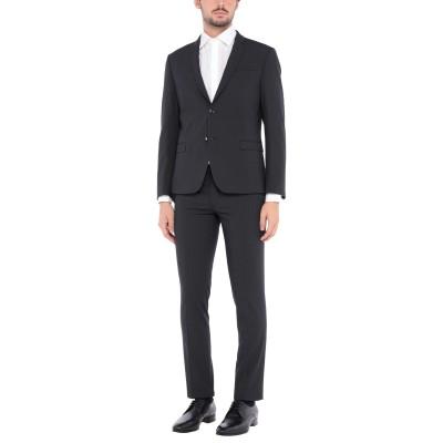 HAVANA & CO. スーツ ダークブルー 52 ポリエステル 64% / レーヨン 30% / ポリウレタン 6% スーツ