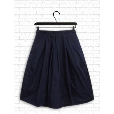 [スカート] ふんわりシルエットスカート