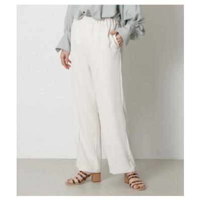 crie conforto / サラサラワイドパンツ WOMEN パンツ > スラックス