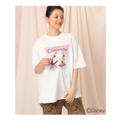 クチュール ブローチ Couture brooch 【限定商品】「シンデレラ」/プリントTシャツ (オフホワイト)