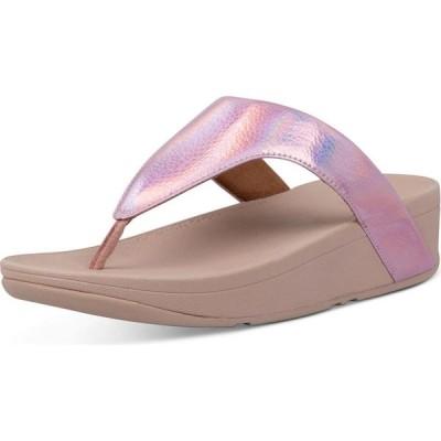 フィットフロップ FitFlop レディース サンダル・ミュール シューズ・靴 Lottie Iridescent Scale Thong Sandals Soft Pink