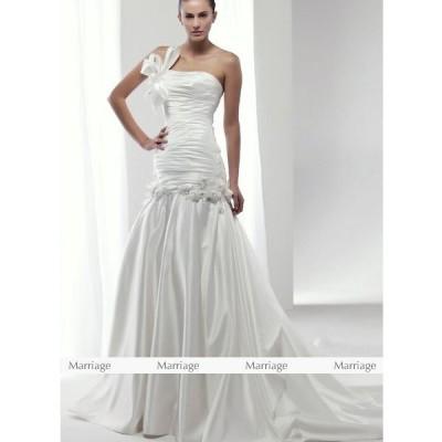K95145  ウェディングドレス  ウエディングドレス マタニティー対応