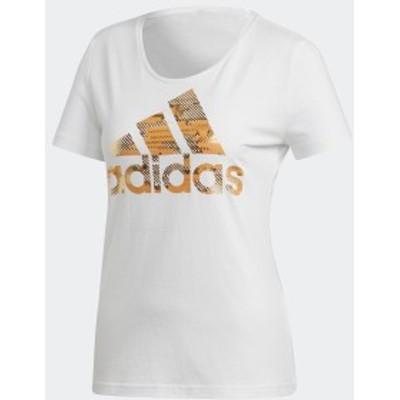 【公式】アディダス adidas セール価格 エッセンシャルズ フォイル バッジ オブ スポーツ Tシャツ [ESSENTIALS] レディース アスレティク