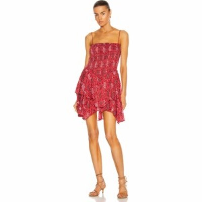 イザベル マラン Isabel Marant Etoile レディース ワンピース ワンピース・ドレス Anka Dress Red