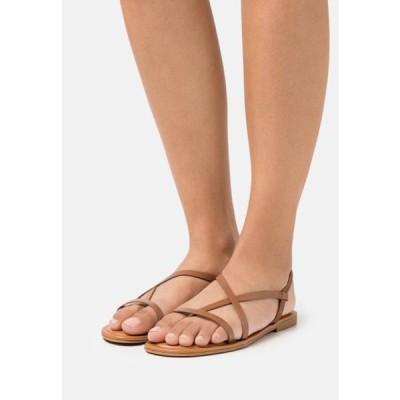 アルド レディース サンダル BROASA - T-bar sandals - brown
