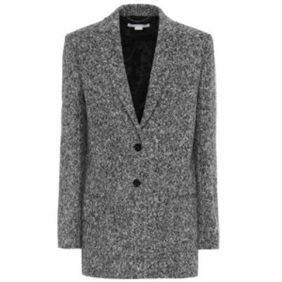 ステラ マッカートニー Stella McCartney レディース スーツ・ジャケット アウター wool blazer Black