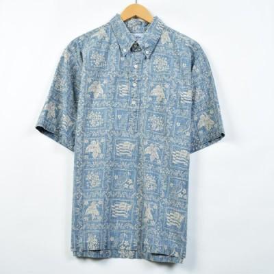 90年代 レインスプーナー ハワイアンアロハシャツ XL /eaa027366