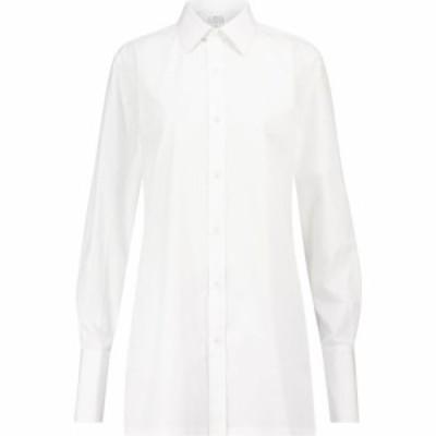 メゾン マルジェラ Maison Margiela レディース ブラウス・シャツ トップス Cotton shirt Optic White