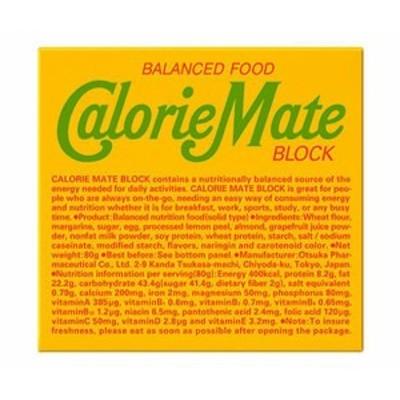 送料無料 大塚製薬 カロリーメイト ブロック フルーツ味 1箱(4本入)×30本入