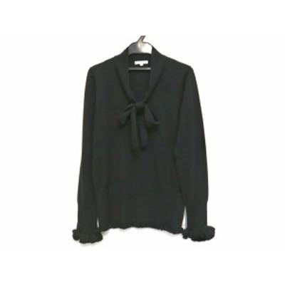 トゥービーシック TO BE CHIC 長袖セーター サイズ2 M レディース 黒【還元祭対象】【中古】20200603
